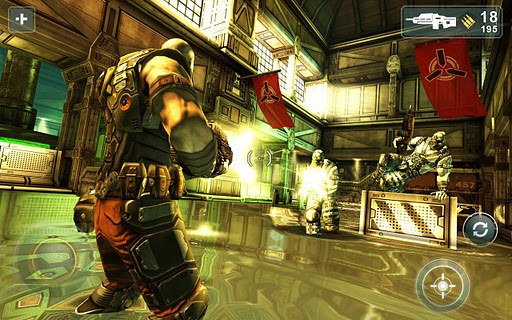 Gorgeous shooter Shadowgun THD for Tegra 3 devices receives 4-level expansion pack