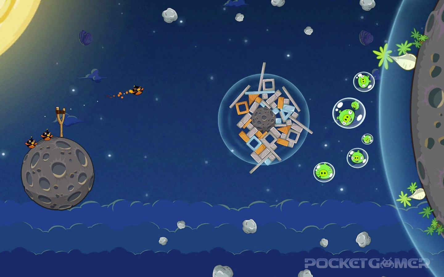 angry birds space wallpapers angry birds space