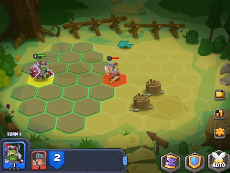 Tactical Monsters Rumble Arena review - A stripped-back strategy title without much to offer