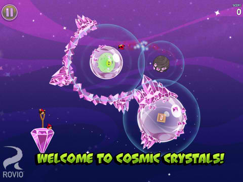 Angry Birds Space updated with 30 new levels, hidden extras, and more