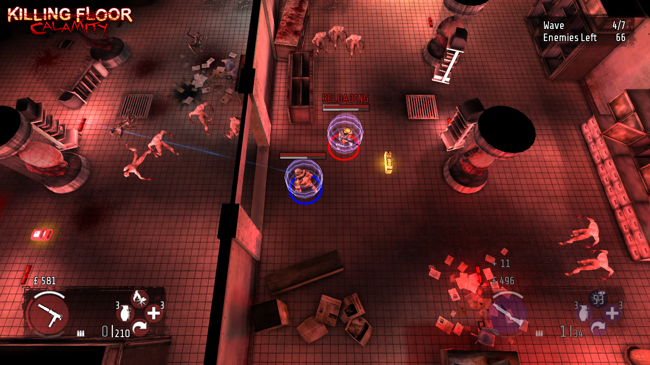 Top-down shooter Killing Floor: Calamity is out now on Ouya