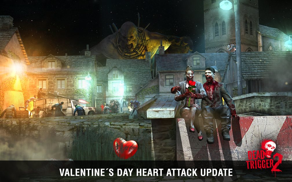 Dead Trigger 2's latest update brings Valentine's Day to the zombie apocalypse