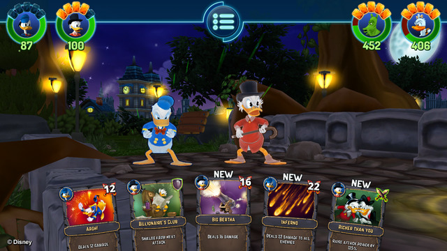 Donald Duck's own card-battling RPG, The Duckforce Rises, is now out in Europe