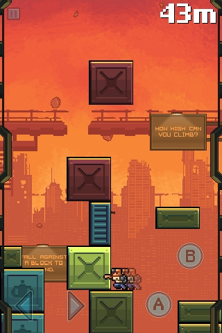 Halfbot's legitimate The Blocks Cometh to include cross-over characters on iPhone