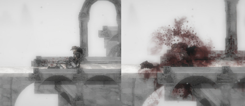 Salt and Sanctuary is a violent action-RPG for Vita from the Charlie Murder devs