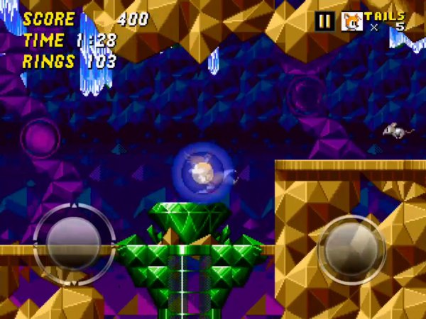 Sonic The Hedgehog 2 on iOS contains a super-secret beta version of the retooled Hidden Palace level