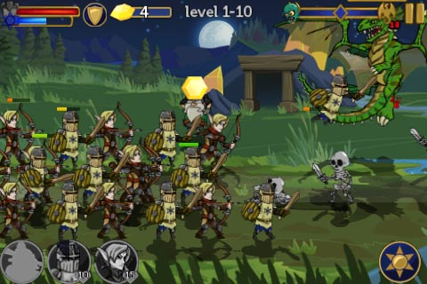 Castle defence title Legendary Wars for iPhone and iPad gets slashed in price, updated with new game modes and units