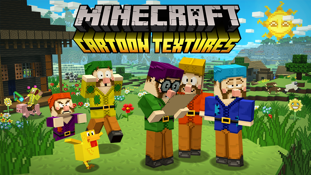 Get derpy with Minecraft: Pocket Edition's most recent texture pack