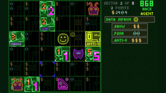Silver Award-winning roguelike 868-HACK is on an anniversary sale right now