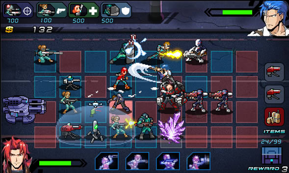 [Update] Kickstarter-funded real-time strategy mash-up C-Wars is heading to iOS, Android, 3DS, and Vita