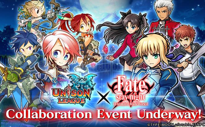 Fight alongside familiar friends in Unison League's latest anime crossover event