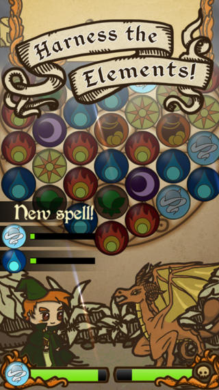 Tactically match spells and elements in ex-Bullfrog dev's free puzzle-RPG Glyph Quest