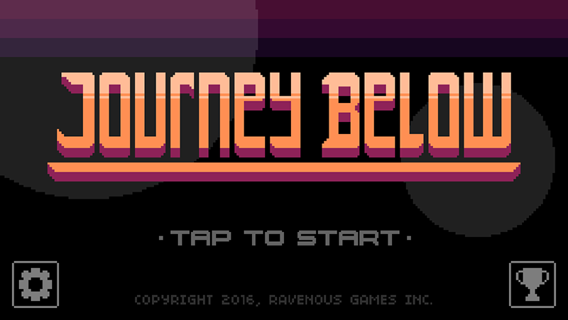 [Update] Ravenous Games' newest auto-runner, Journey Below, is out now on iOS