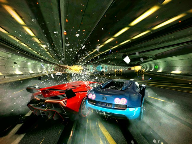 Asphalt 8: Airborne has an explosive new challenge to celebrate the upcoming launch of Modern Combat 5: Blackout