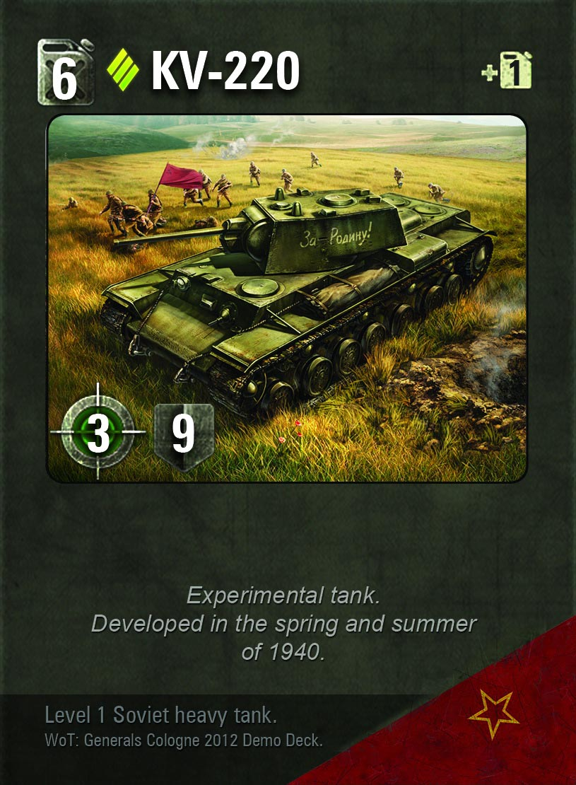 Out now - World of Tanks: Generals has you bombard opponents with cards instead of shells