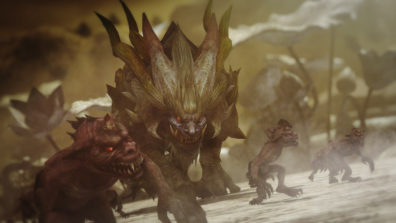 Hunt monsters in feudal japan when Toukiden: Age of Demons comes to the Vita in February