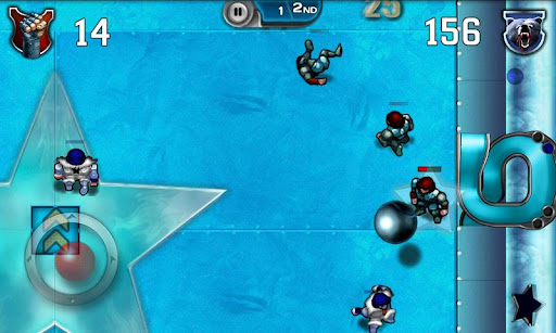 Speedball 2 Evolution slide tackles its way onto the Xperia Play