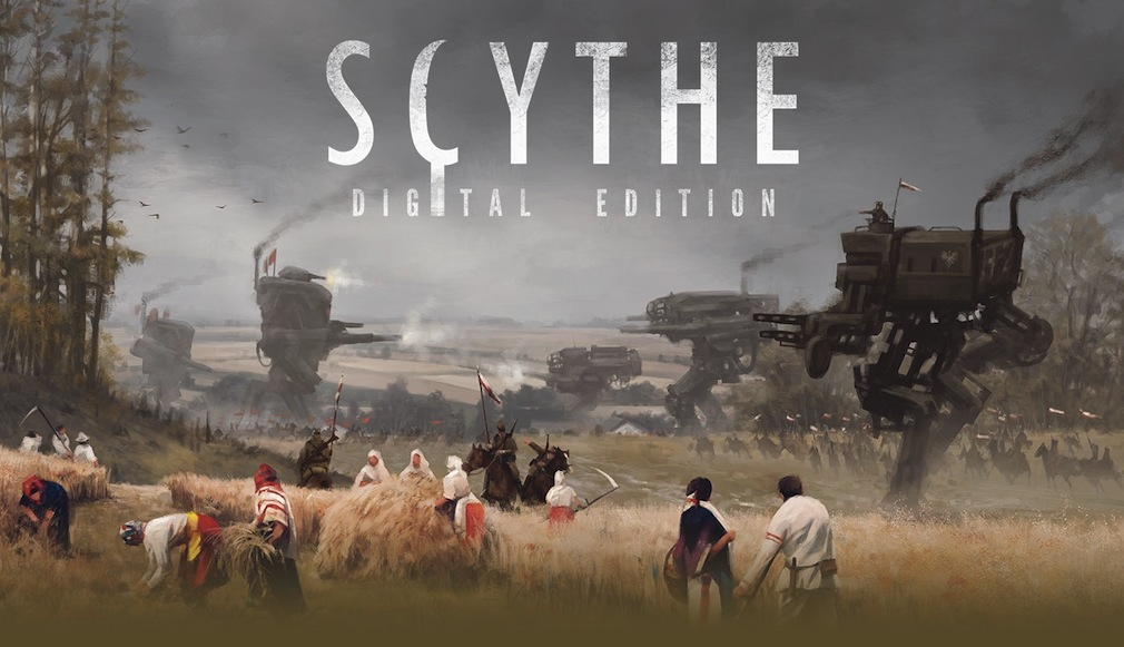 Live from 5pm UK time we're going to be streaming some Scythe: Digital Edition