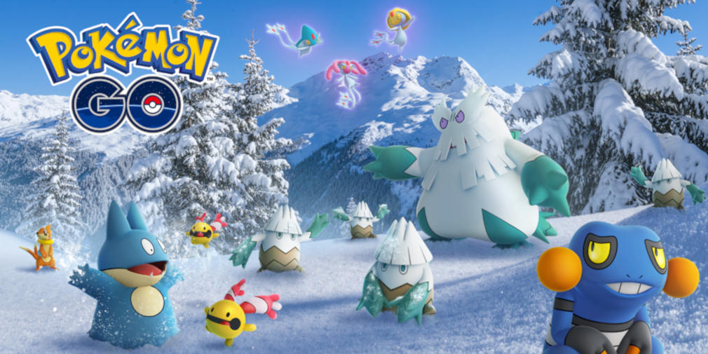 Pokemon GO celebrates the holidays with new Generation IV Pokemon