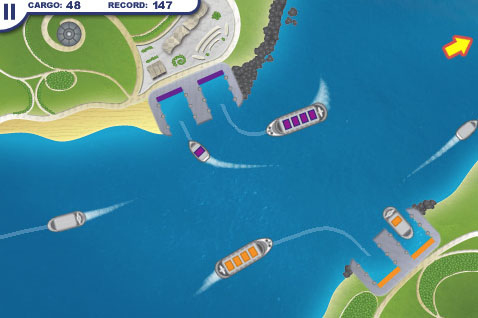 Bronze Award-winning line-drawing game Harbor Master goes free for first time on iPhone