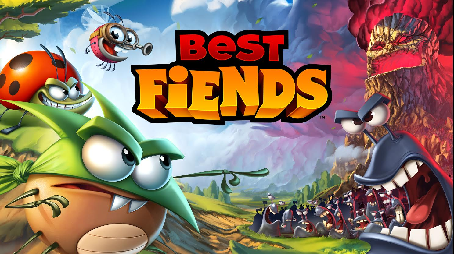 F2P puzzler Best Fiends from ex-Rovio devs sees heroic bugs and nasty slugs at war