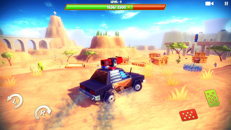 Zombie Safari is a free-roam off-road driving game, coming to iOS in April