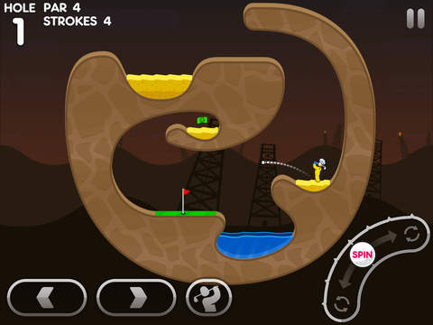 Super and sticky, Super Stickman Golf 3 tees off on iOS