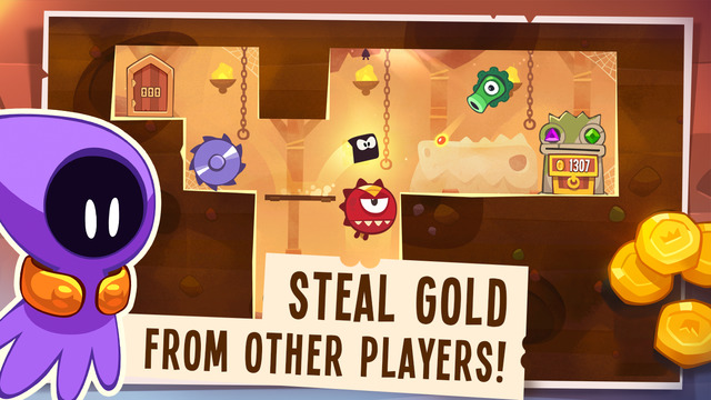 Cut the Rope studio's pilfering platformer King of Thieves is now on Android