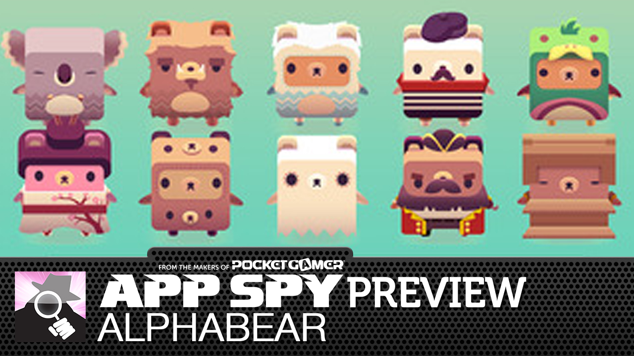 Alphabear is the new word puzzler from the Triple Town team