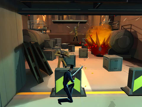 CounterSpy is a side-scrolling espionage thriller that's out right now for iOS and Android