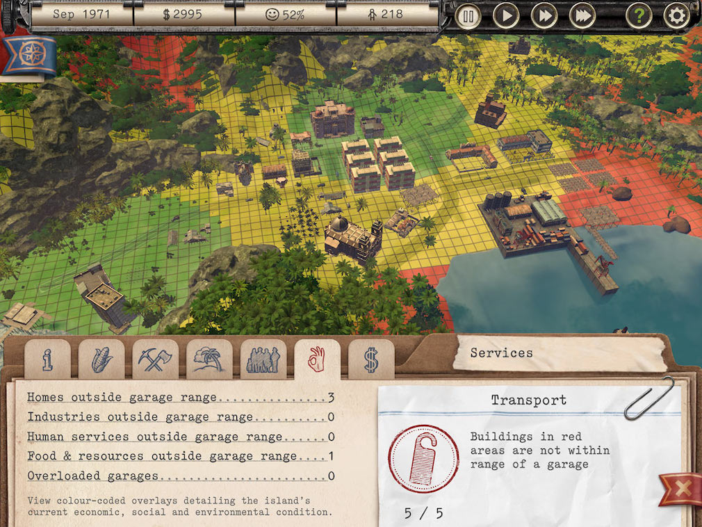 Feral Interactive announces some neat new overlay options for Tropico