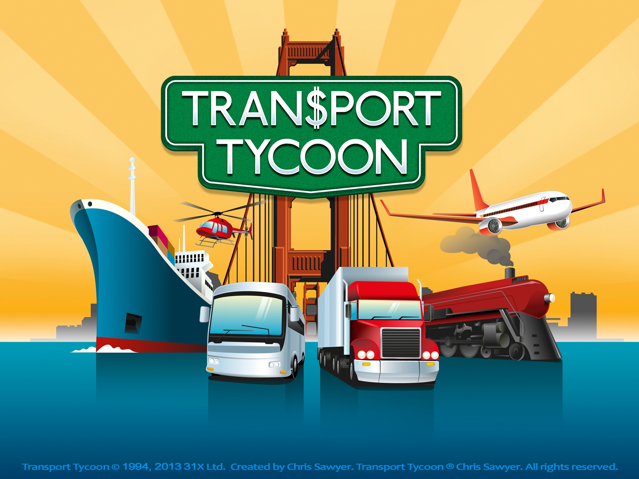 Chris Sawyer's old school sim Transport Tycoon will stop at the iOS and Android platforms on October 3rd