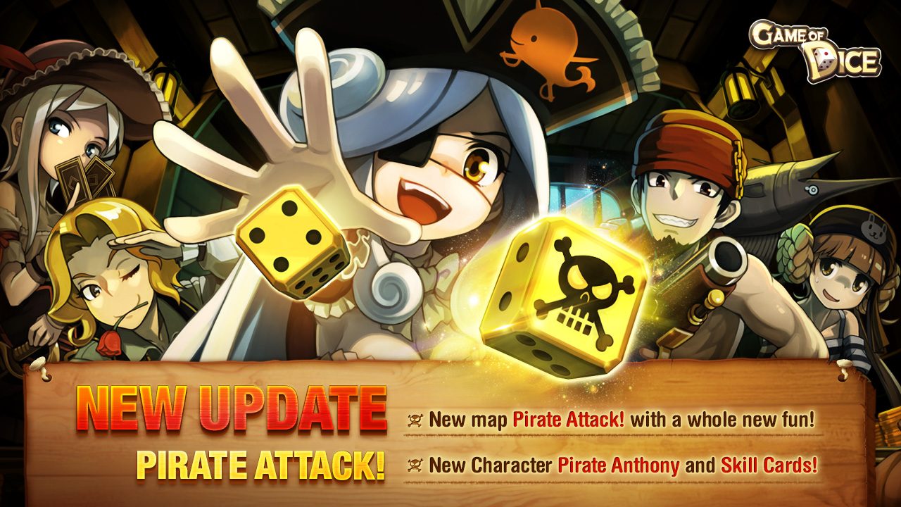 Game of Dice has received a massive Pirate Attack update