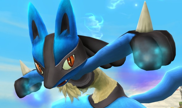 Lucario will be fighting once again in Super Smash Bros 4