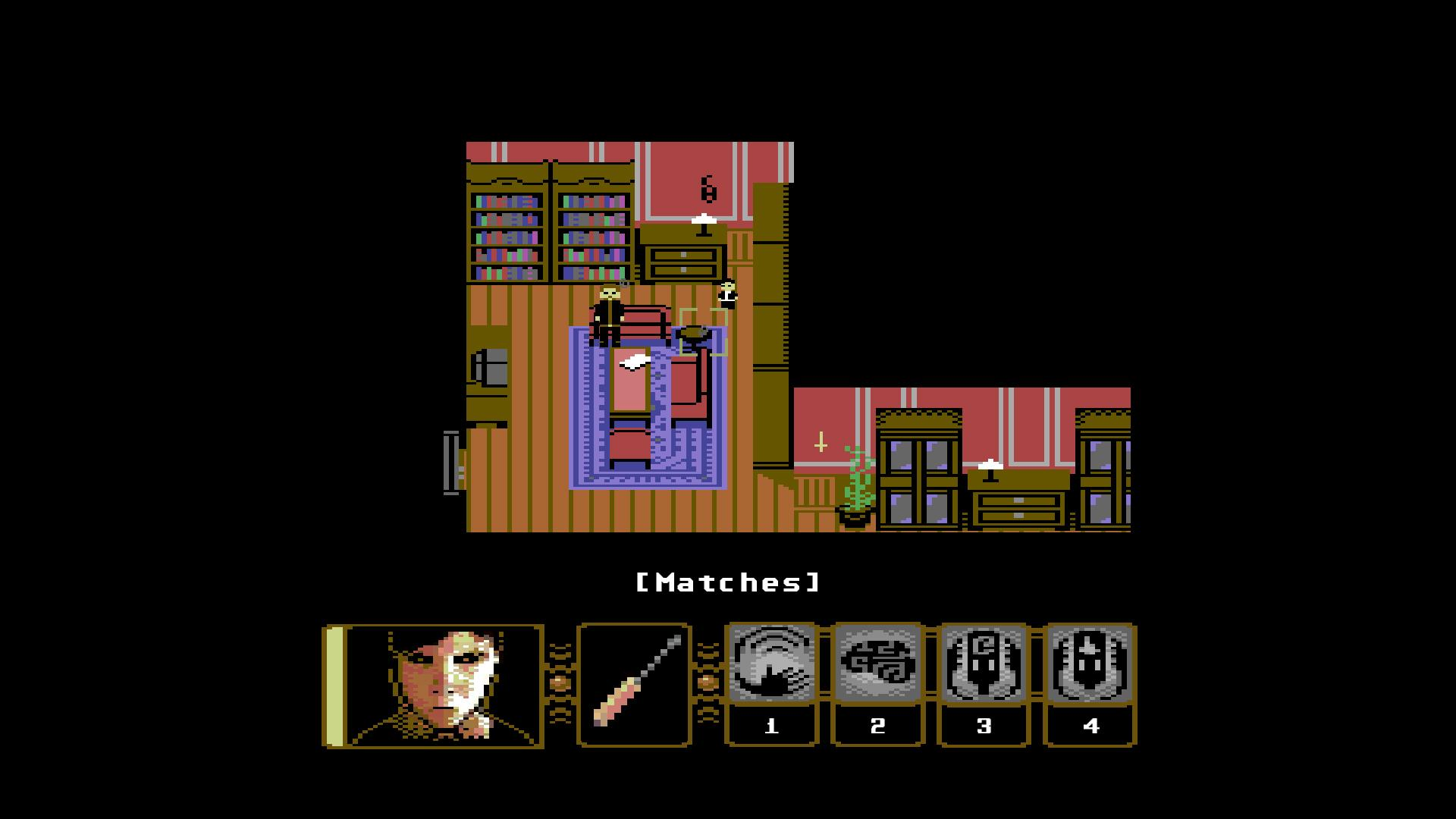 Experience the horror game Lucius in 80s-style point and click form in Lucius Demake