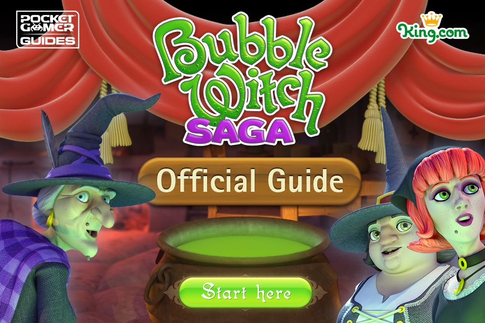 Pocket Gamer's official Bubble Witch Saga Guide casts a spell on the iPad