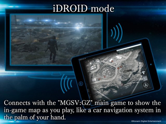 Metal Gear Solid V: Ground Zeroes companion app tip-toes onto iOS and Android