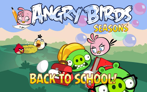 Android version of Angry Birds Seasons now blowing bubbles, too