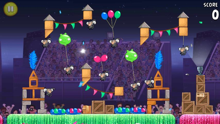 Angry Birds Rio for Android updated with 15 new levels