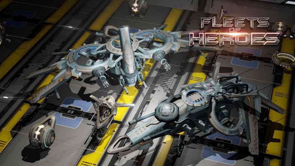 Intense base builder Fleets of Heroes flies onto Google Play