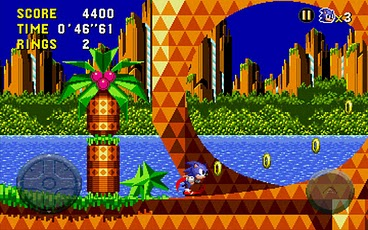 Sonic CD races onto the Android Market, optimised for Xperia Play