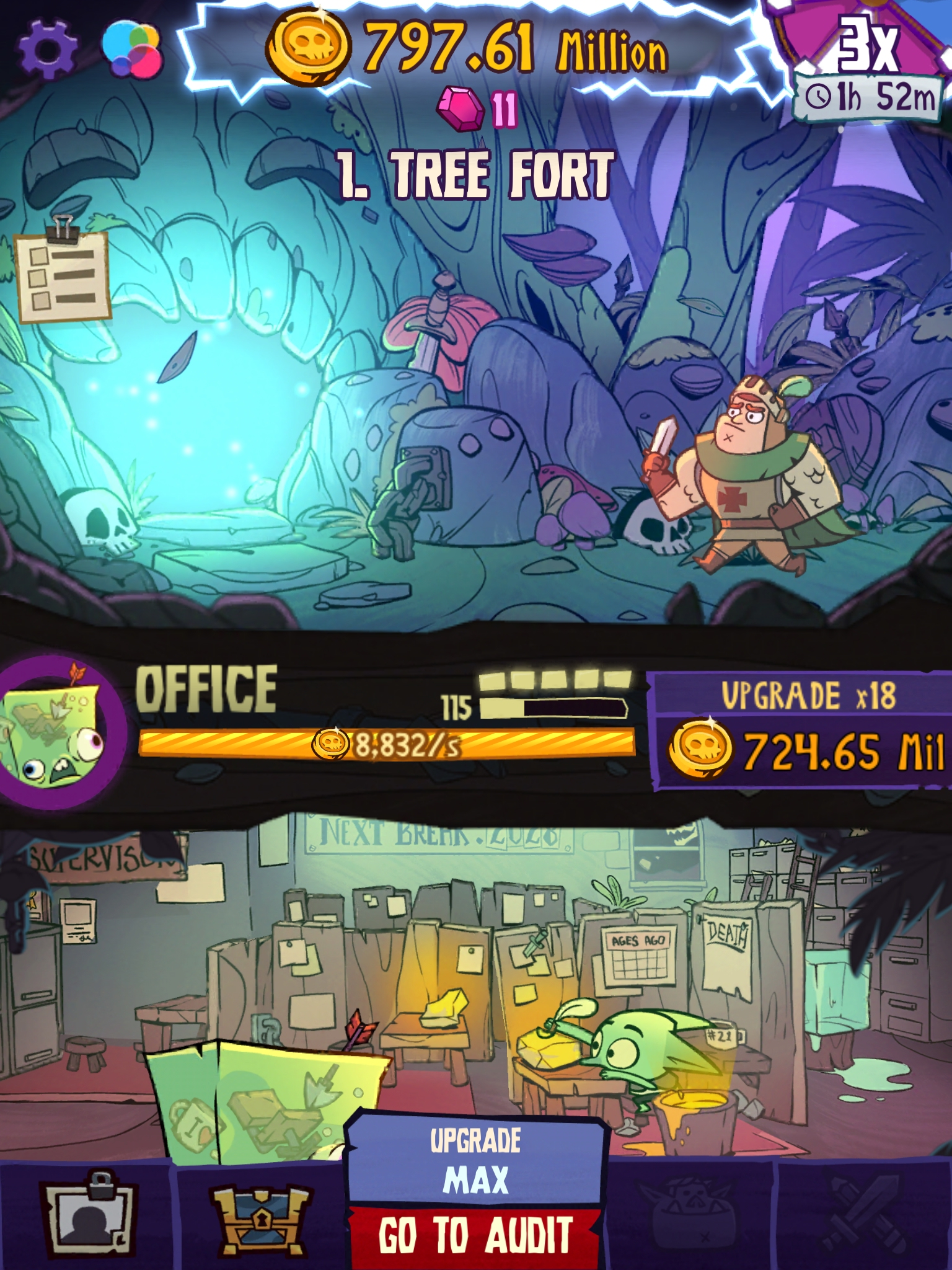 Dungeon, Inc. review - An idle-clicker with sinister depths