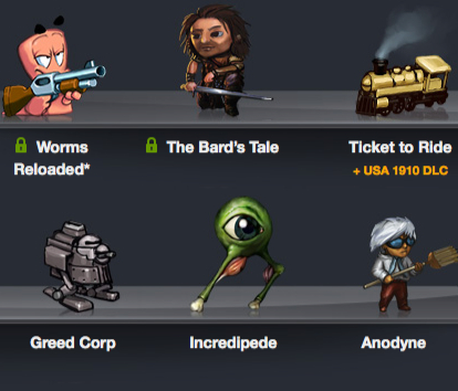 Humble Bundle 7 arrives - get Ticket to Ride, The Bard's Tale, Worms Reloaded and more for under $7.00