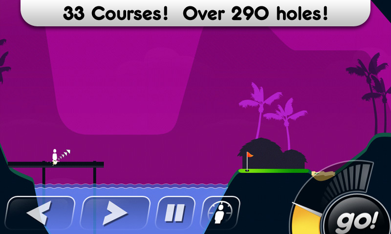 Super Stickman Golf will chip onto the Android green tomorrow for free