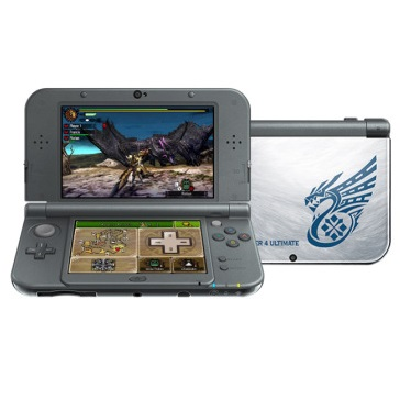 Win copies of Monster Hunter 4 Ultimate or even the New 3DS XL limited edition itself