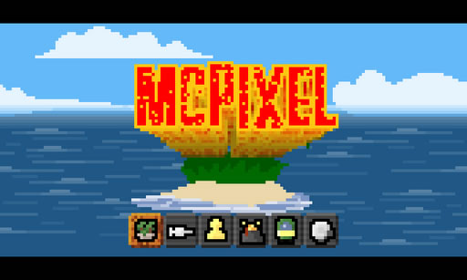 Retro point-and-click game McPixel explodes onto iOS and Android