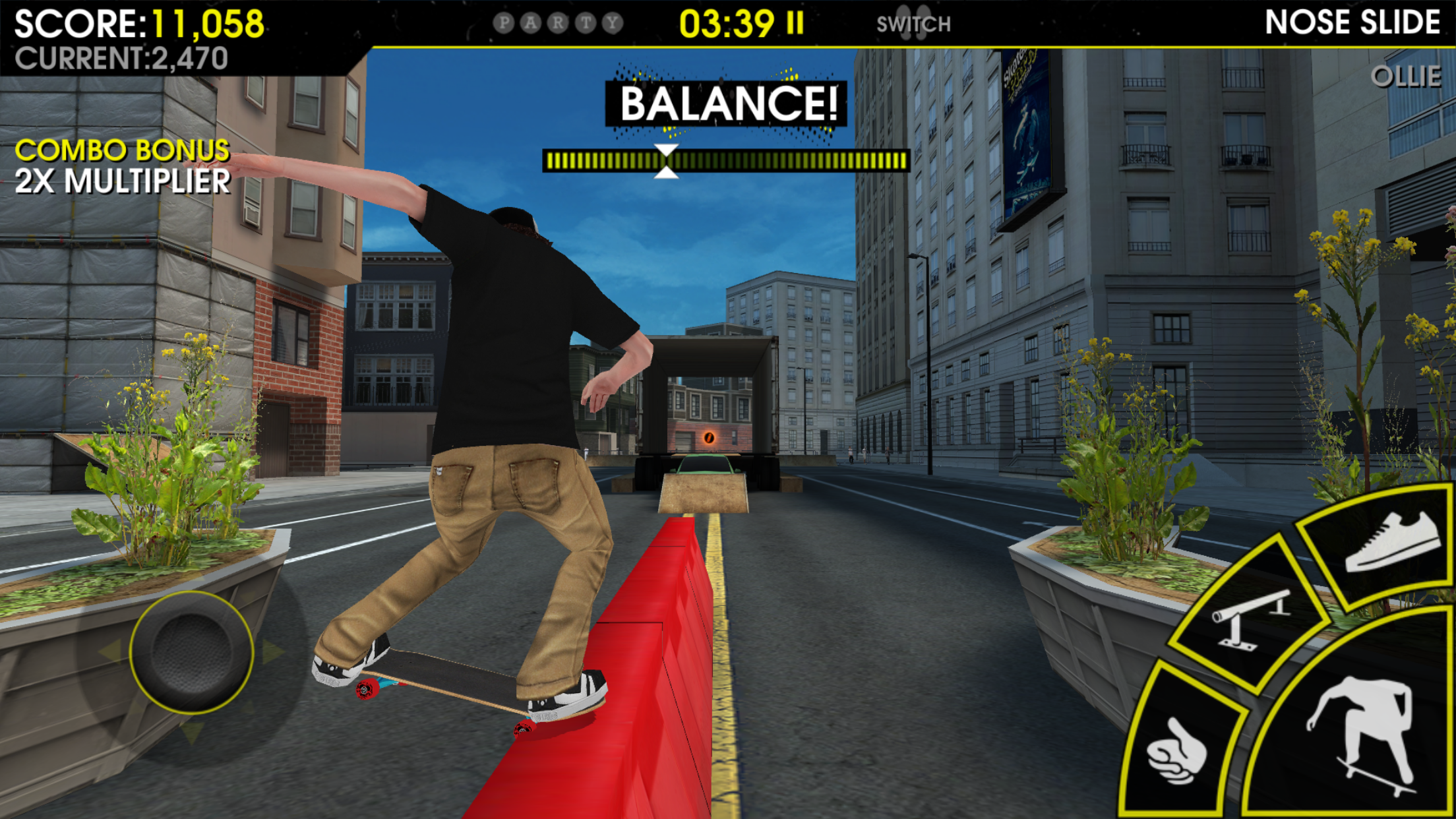 How does Skateboard Party 3 compare to Touchgrind Skate 2, Infinite Skater, and more?
