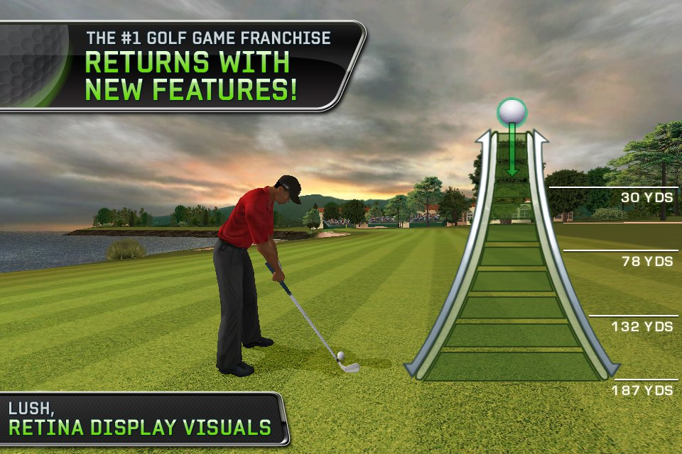 First look at Tiger Woods PGA Tour 12 for iPhone and iPad