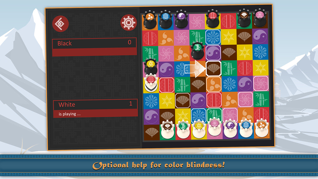 Kamisado is a neat, easy to learn boardgame that may look like chess but plays quite differently