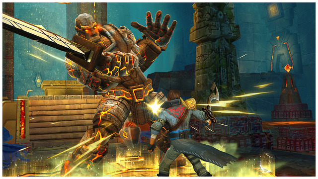 [Update] Out at midnight: Stormblades should please Infinity Blade fans with its tactical titan fights